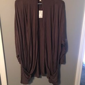 Maurices drape cardi. Size 2 NWT